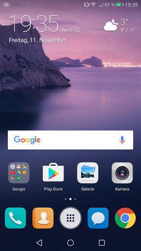 Der App Drawer ist unter EMUI 5 zurück