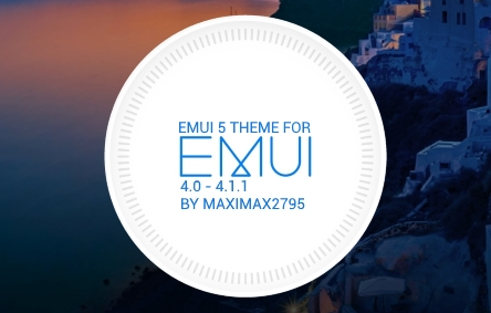 EMUI 5 Theme für EMUI 4.0 - 4.1.1